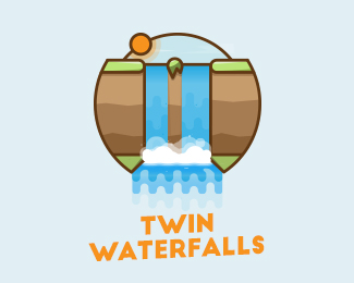 Twin Waterfalls