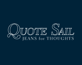 Quote Sail - Jeans for Thoughts