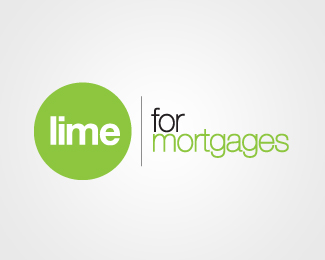 Lime For Mortgages Logo Design