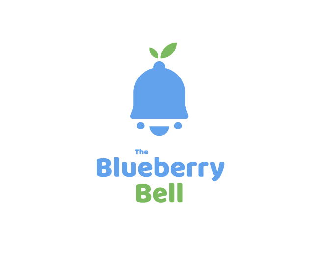 The Blueberry Bell Logo