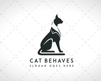 Stylish Cat Logo