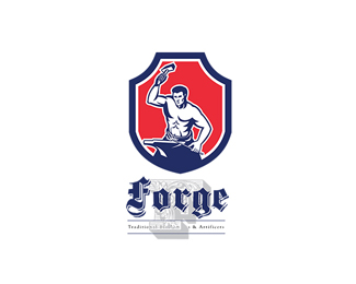 Forge Traditional Blacksmiths Logo