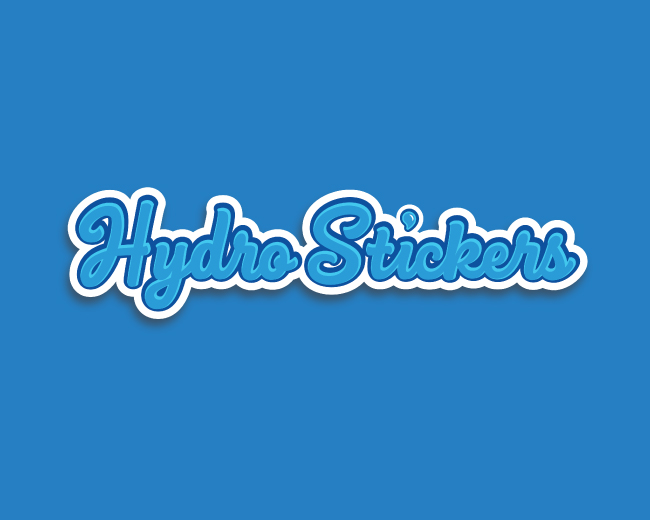 Hydro Stickers