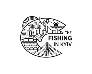 The fishing in Kiev