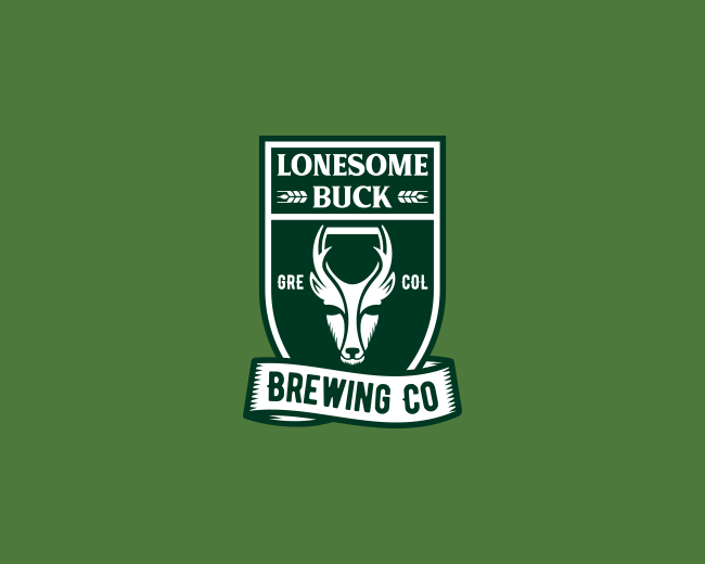 Lonesome Buck Brewing Logo