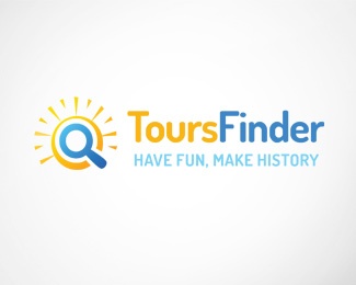 Tours Finder Logo Template