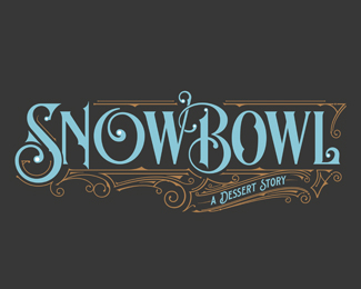 Snow Bowl Cafe | Logo | London