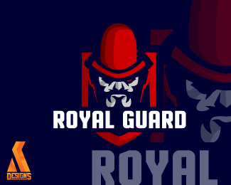 inspired by the guard esport's team logo of rugal