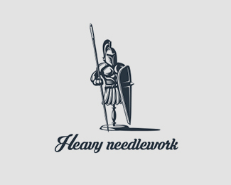 Heavy needlework