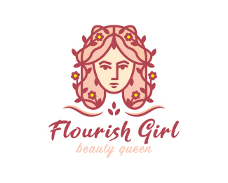 Flourish Girl Logo