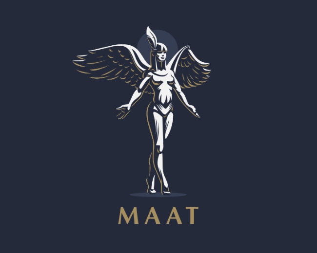 Egyptian Goddess Maat.