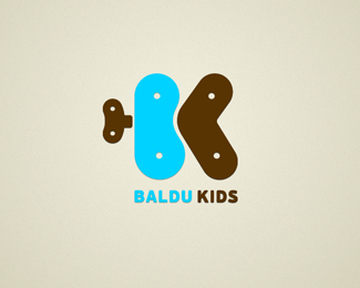 logo for online kid's shop