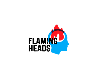 Flaming Heads