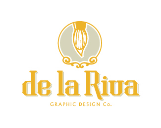 de la Riva Graphic Design Co. variant