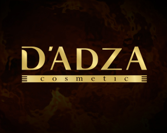 D'Adza Cosmetic (Gold)