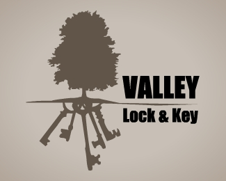 Valley lock & key