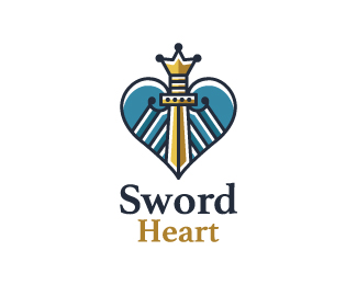Sword Heart Logo