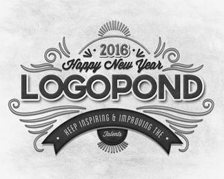 Happy New Year LogoPond