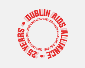 Dublin AIDS Alliance — 25 Years Identity