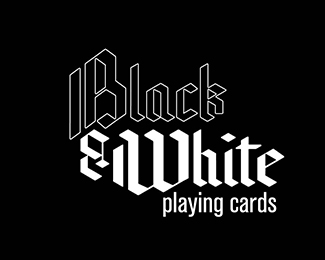 Black and White, Playing Cards