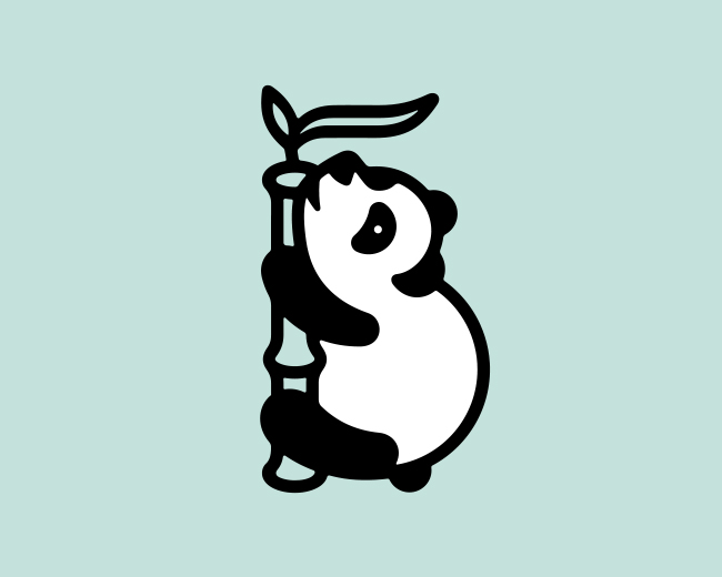 Stubborn Panda 📌 Logo for Sale