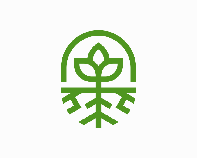 Bloom Leaf Root Logo