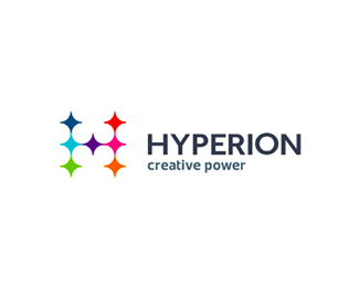 Hyperion design agency logo design