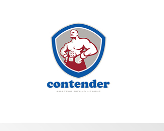 Contender Amateur Boxing League Logo