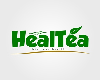 Logo For 'HealTea'