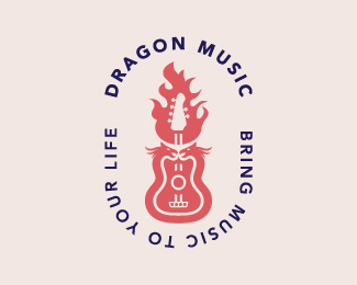 Dragon Music Logo