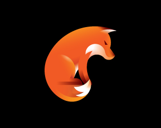 Fox Logo and Golden Ratio Spirak