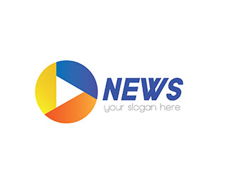 News logo design