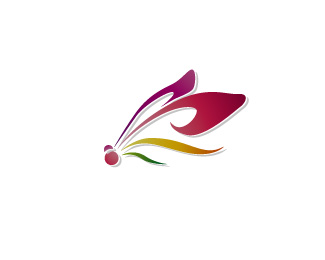 Logo of floristic studio Dragonfly
