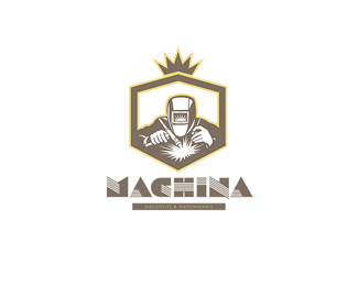 Machina Machinist and Metalworks Logo