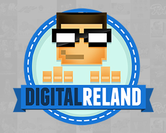 Digital Reland Logo Design