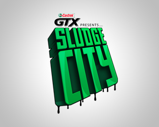 Castrol GTX Sludge City (concept)