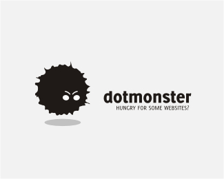 Dot Monster Logo