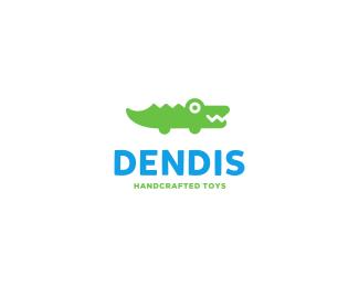 Logo design inspiration #31 - Dendis by Deividas Bielskis