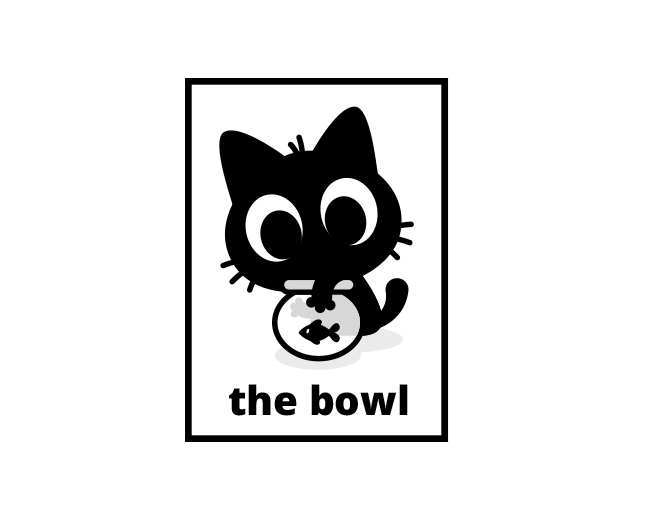 The Bowl - Cat Logo Design