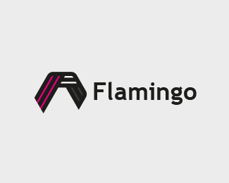Flamingo Bird Logo (for sale)