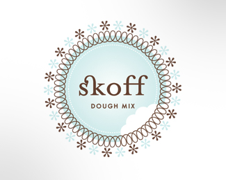 Logo for Skoff Pre-mixed cookie dough