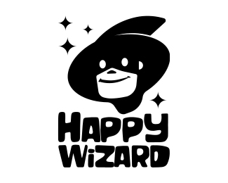 Happy wizard
