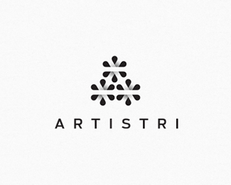 Logo design inspiration #30 - Artistri by Shyam B.