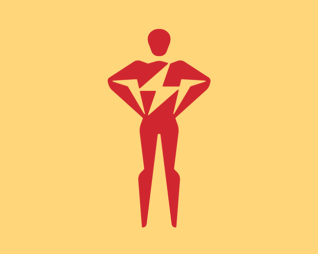 Electric Man 📌 Logo for Sale