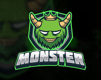 Green Monster Esport Logo