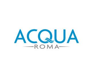 Logopond - Logo, Brand & Identity Inspiration (Acqua Roma)