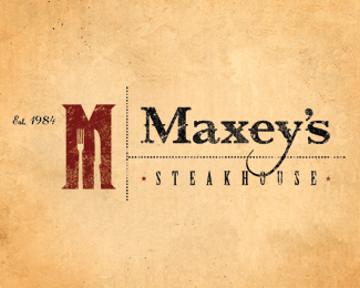 Maxey's Steakhouse Logo