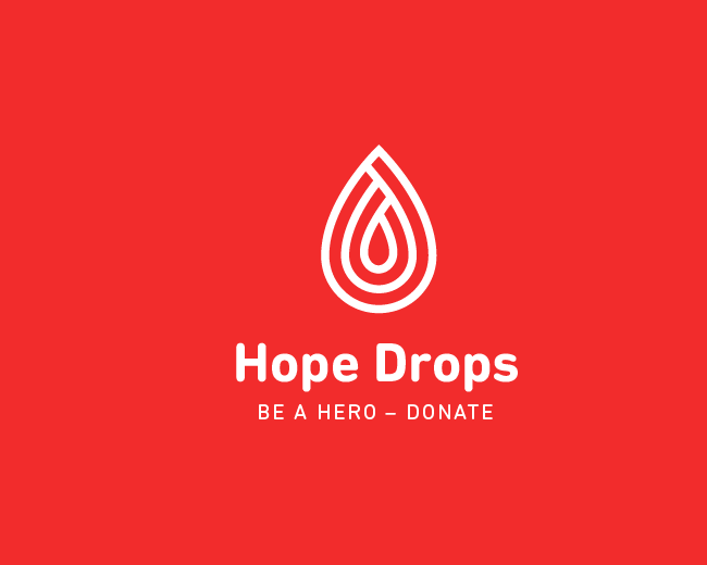 Hope Drops Logo Design
