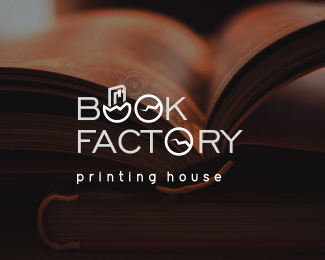 Book Factory by @Edoudesign