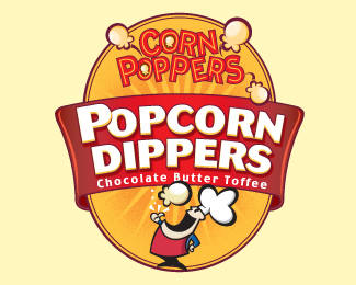 Corn Poppers Label 2